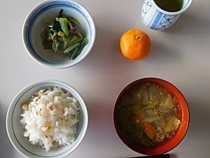 12月14日今日の昼食 -