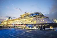2018年最後の大桟橋の セレブリティ・ミレニアム - エーデルワイスPhoto