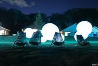 チームラボ 森と湖の光の祭「浮遊する、呼応する球体」#チームラボ #メッツァ #夜景 - Photolog