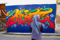 マレーシアジョージタウンのウォールアート街 - 風に吹かれて旅日記