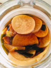 ママの大根柚子しょうゆ漬け - あの日、あの味。
