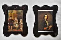 アールヌーボー木製額841,842 - スペイン・バルセロナ・アンティーク gyu's shop