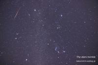 ウィルタネン彗星(46P)と競演した ふたご座流星群 - 君がいた風景