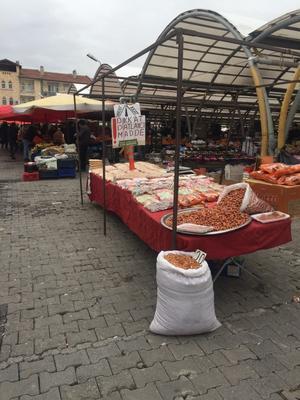 市場の爆発物 - トルコ子育て生活