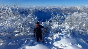 風不死岳北尾根、2018.12.13ー同行者からの写真ー - デジカメ持って野に山に