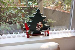 クリスマスオーナメントを飾りました♪ - スモーキーと一緒に