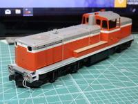 KATOのDE10基本塗装完了 - Sirokamo-Industry