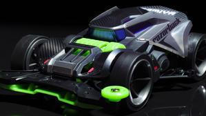ミニ四駆最新作、レイザーバックの衝撃的デザインを目撃せよ! - 超音速備忘録