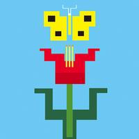 flower and butterfly - Yenpitsu Nemoto  portfolio    ネモト円筆作品集