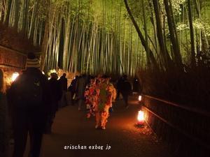 嵐山花灯路2018 - アリスのトリップ