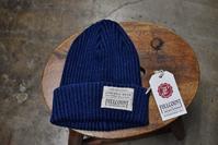FULL COUNTIndigo Cotton KNIT帽 - selectorボスの独り言   もしもし?…0942-41-8617で細かに対応しますョ  (サイズ・在庫)