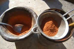 スパイスミルを台所で使い仕事場で使いIs this cinnamon? - こばやしゆふ   yu-kobayashi   はてしない