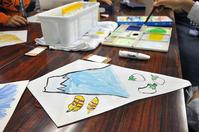 児童画クラス「凧に絵を描こう!」 - 大阪の絵画教室|アトリエTODAY