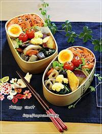 焼き紅鮭のっけて弁当とパン焼き・湯種食パン - ☆Happy time☆