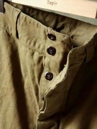 FRENCH ARMY M-47 VINTAGE DEAD STOCK 前期 - 【Tapir Diary】神戸のセレクトショップ『タピア』のブログです