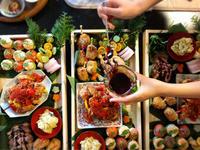 姉妹コラボ「正月飾り作りとおせちランチ」エレガントな正月飾り - Coucou a table!      クク アターブル!