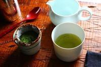朝の粉茶 - 満足満腹  お茶とごはん