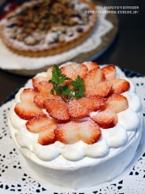 製菓な生活 ~ 苺のショートケーキ。 - 薬膳な酒肴ブログ~ゆりぽむの今宵も酔い宵。