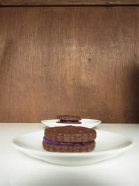 茶菓子の小皿 - カタチ