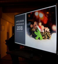 AMPELMANNクリスマスパーティー2018 - べルリンでさーて何を食おうかな?