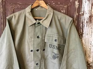 1940s USMC P-44 HBT Jacket 2tone Fabric -