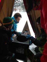 定山渓自然の村で冬キャンプ! - 秀岳荘みんなのブログ!!
