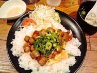 京都市 ワンコインステーキプレート♪ 麺屋・ごはん屋 これでもかっ - 転勤日記