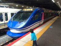 新大阪駅にてスーパーほくと&くろしお&こうのとり! - 子どもと暮らしと鉄道と