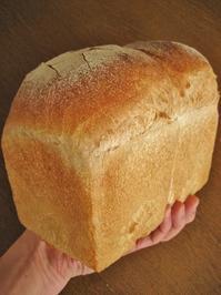 はるきらりのハードトースト、やり直し - slow life,bread life