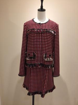 赤の革コート - ★ Eau Claire ★ Dolce Vita ★