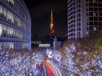 2018.12.17六本木ヒルズから見た東京タワー - ダイヤモンド△△追っかけ記録