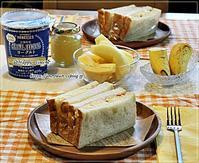 ポテサラハムサンドで朝ごパンとルピシア♪ - ☆Happy time☆