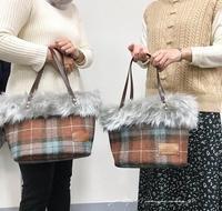 【ヴォーグ学園横浜校バッグ講座】生徒さんの素敵なファーのトートが完成! - neige+ 手作りのある暮らし