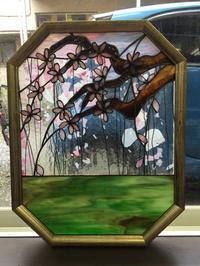 枝垂れ桜 - Glass in