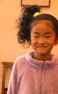 ダンス発表会ピアノ子供髪型子供ヘアアレンジ早朝営業さくら市美容室エスポワール - 美容室エスポワール