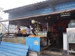 シヴァ神の聖地、スリセーラムに到着し、プーリーの朝食から - kimcafeのB級グルメ旅