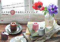 『カメラが恋する花とスタイリングレッスン』、略して「恋バナ」でどうよ? てことで久しぶりのZEISS Batis 1.8/85 - 東京女子フォトレッスンサロン『ラ・フォト自由が丘』-カメラとレンズとテーブルフォトと-