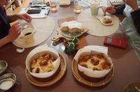 パン教室「ル ソレイユ」Xmas lesson「キャラメル林檎のちぎりパンVo2」レポ - 土浦・つくば の パン教室 Le soleil
