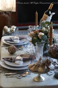 今年もおいしうれし♪ファリーナキッチンのクリスマスレッスン♪ - フレンチシックな家作り。Le petit chateau