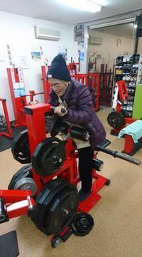 腰椎圧迫骨折から7ヶ月。御齢90歳‼️ - コンディショニングジム life