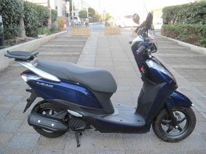 オプション付きLEAD125が入荷 - バイクの横輪