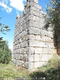 古代ティトレアの城壁 - 日刊ギリシャ檸檬の森 古代都市を行くタイムトラベラー