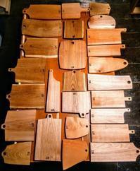 カッティングボードが完成しました - woodworks 季の木  日々を愉しむ無垢の家具と小物