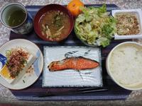 12/19  焼鮭定食@自宅 - 無駄遣いな日々