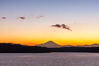 狭山湖のトワイライト - デジカメ写真集