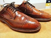 【ALDEN】コードヴァンケア+カカト修理 - Shoe Care & Shoe Order 「FANS.浅草本店」M.Mowbray Shop