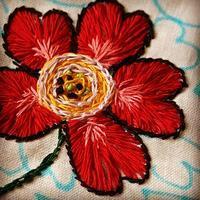 初めての刺繍 1 - お針箱と暮らし 123