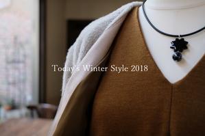 """Today's Winter Style 2018...12/19wed"" - SHOP ◆ The Spiralという館~カフェとインポート雑貨のある次世代型セレクトショップ~"