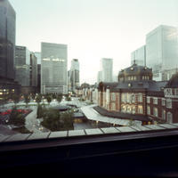 Accumulation of light -東京駅が見える場所- - jinsnap_2(weblog on a snap shot)