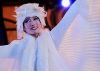 白の妖精笑顔 - から元気らくがき帳